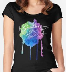Seventeen Watercolor Women's Fitted Scoop T-Shirt