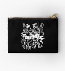 I Will Have You Without Armour | Six of Crows Studio Pouch