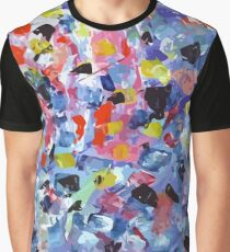 Abstract painting pattern colored Graphic T-Shirt