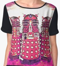 Radiant Daleks Women's Chiffon Top