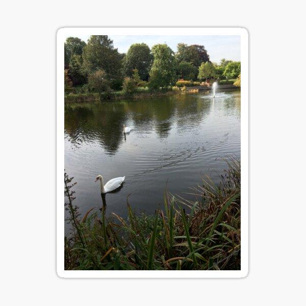 Bletchley Swans Sticker