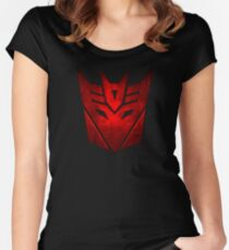 Decepticon RED Women's Fitted Scoop T-Shirt