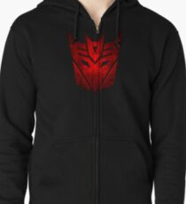 Decepticon RED Zipped Hoodie