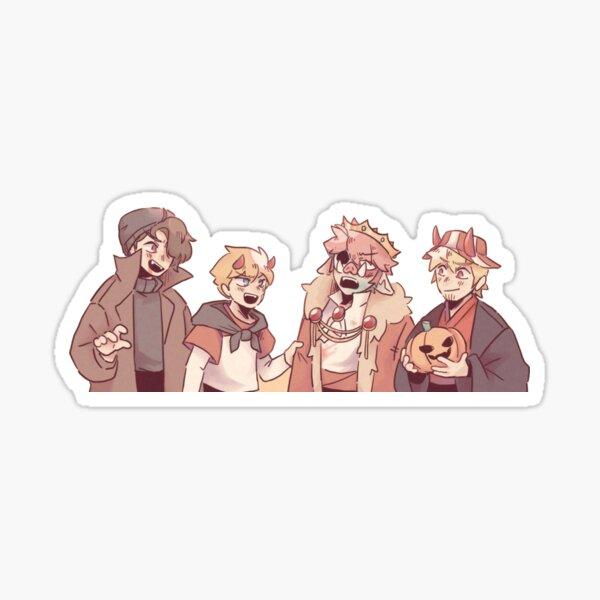 Sleepy Boys Inc Halloween Edition Sticker