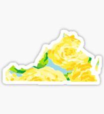 Virginia Pattern Sticker