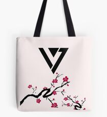 Seventeen Cherry Blossom Logo Tote Bag
