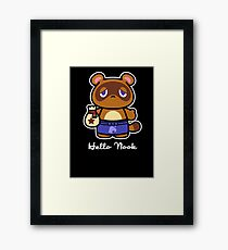 Hello Nook Framed Print