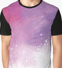 Paint Brushing Graphic T-Shirt