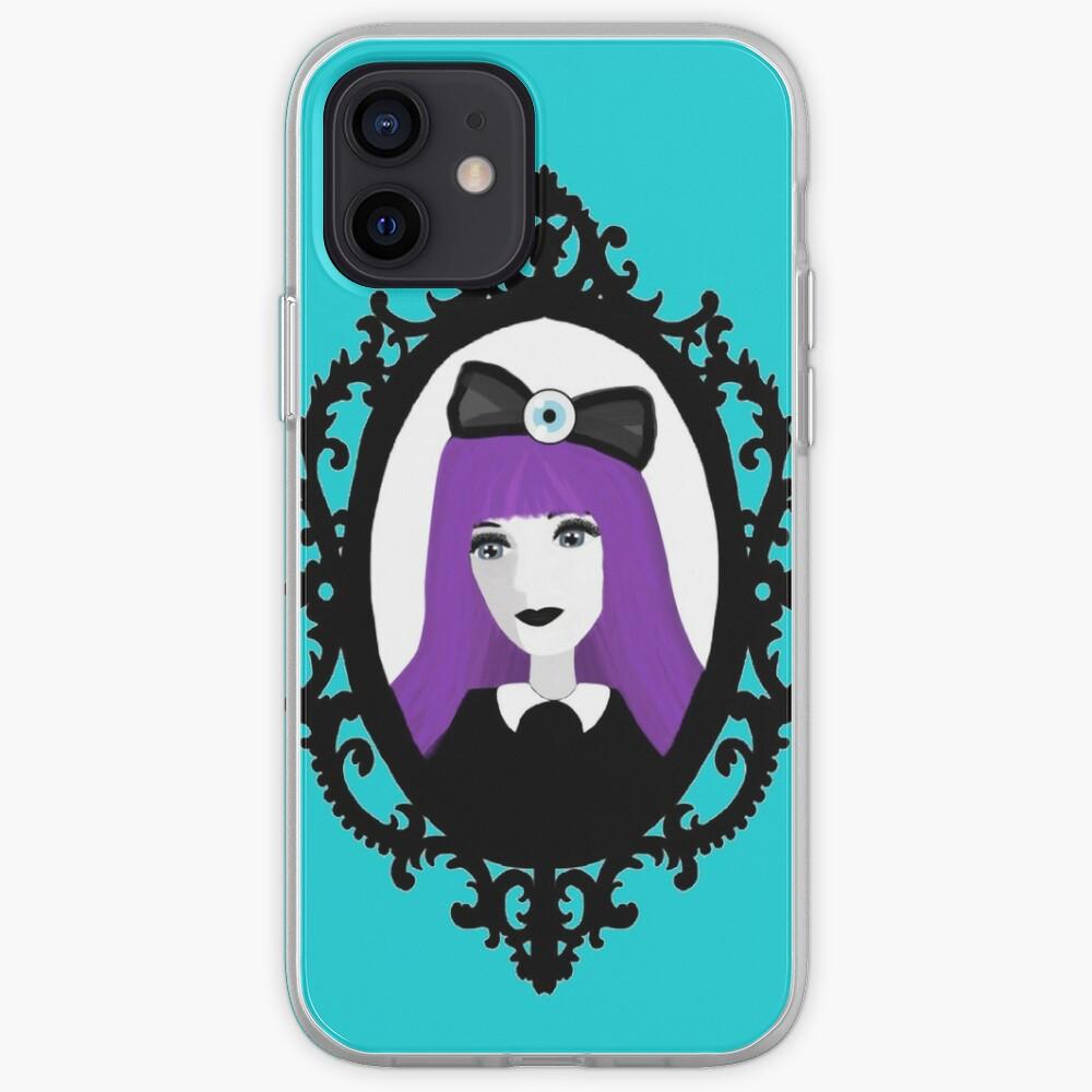 Purple Pastel Goth - Aqua iPhone Case & Cover