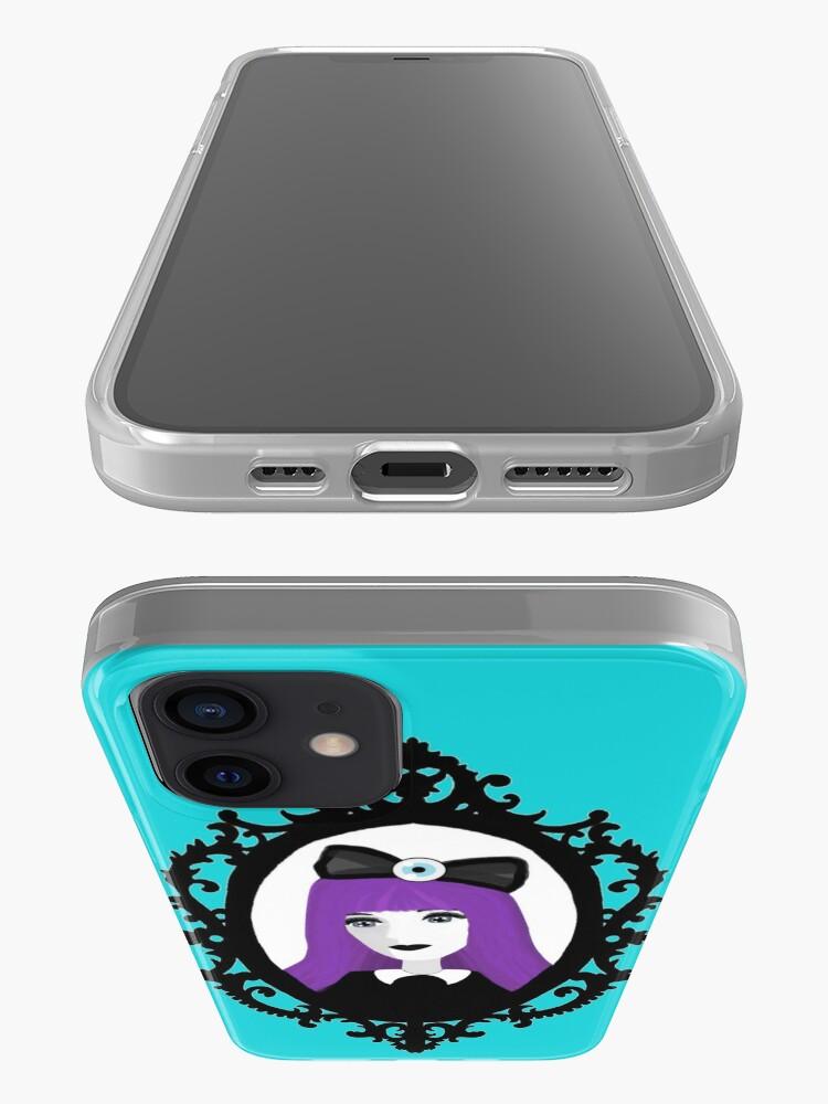 Alternate view of Purple Pastel Goth - Aqua iPhone Case & Cover