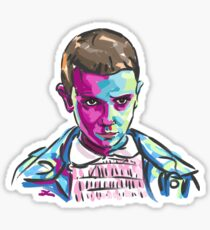 Eleven (11) - Stranger Things Sticker