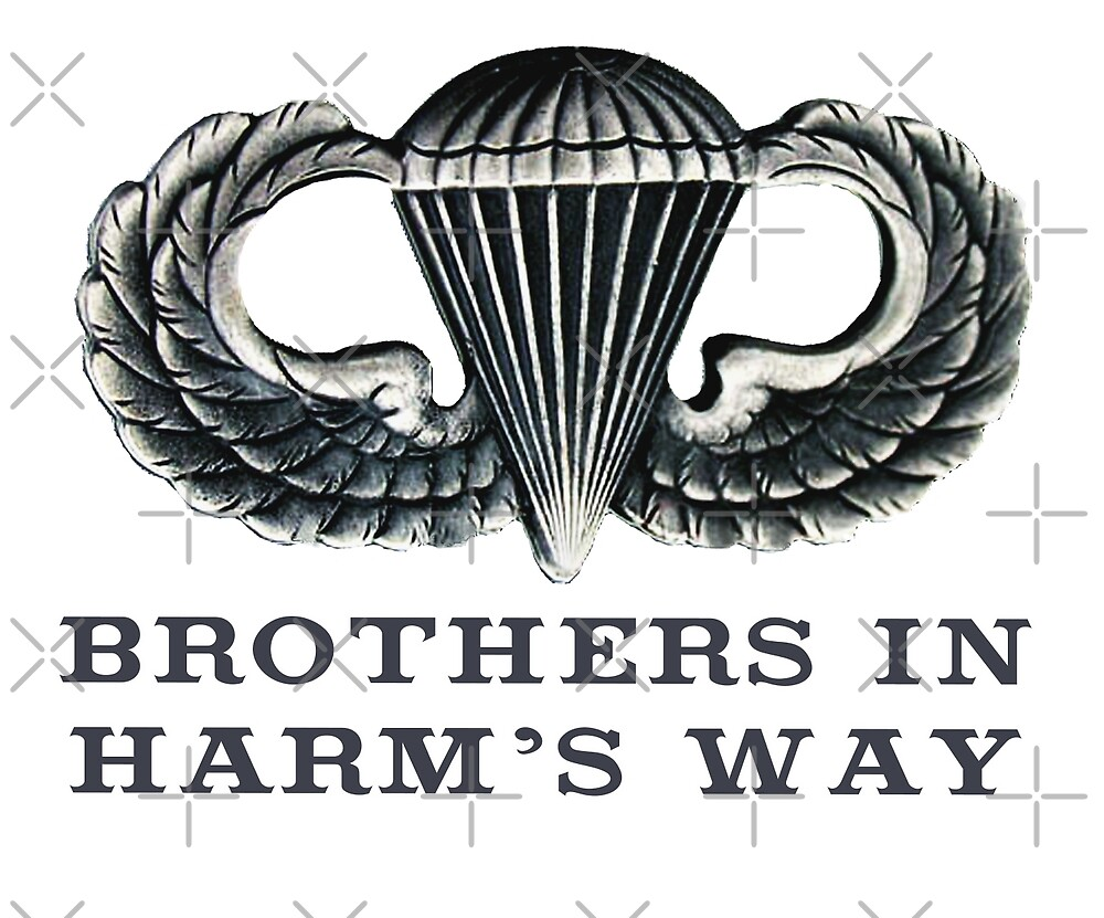 Jump Wings - Brothers in Harm's Way by Buckwhite