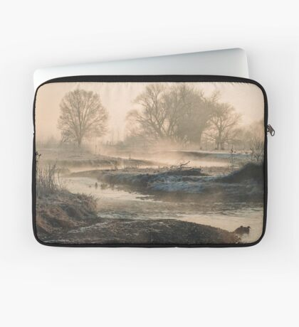 In To The Mystery - Sunrise At White Rock Laptop Sleeve