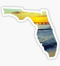 Sunset Florida  Sticker