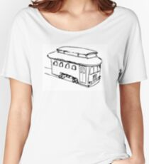 The Trolley (Artistic) Women's Relaxed Fit T-Shirt