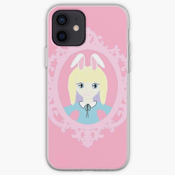 Kawaii Bunny Cosplay Girl iPhone Soft Case