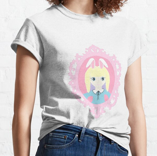 Kawaii Bunny Cosplay Girl Classic T-Shirt