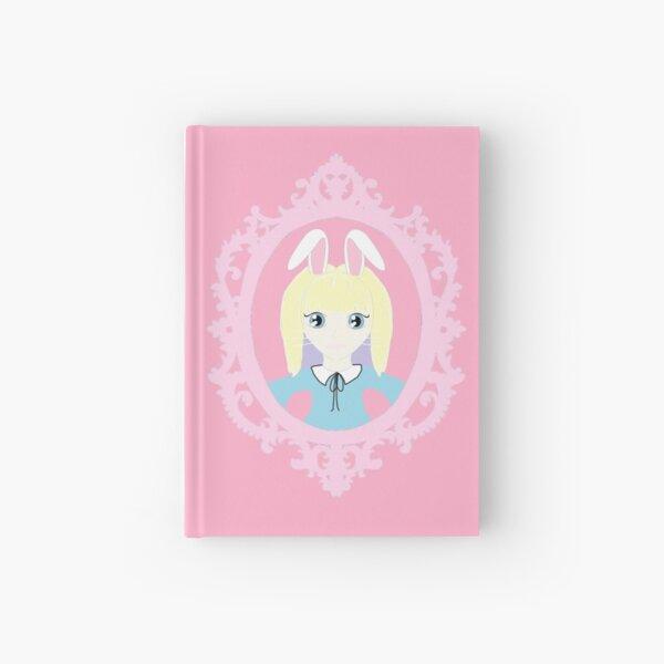 Kawaii Bunny Cosplay Girl Hardcover Journal