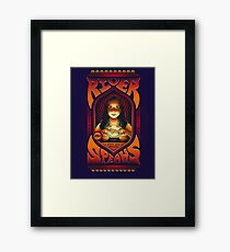 River Speaks Framed Print