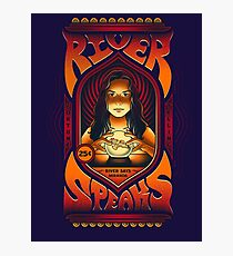 River Speaks Photographic Print