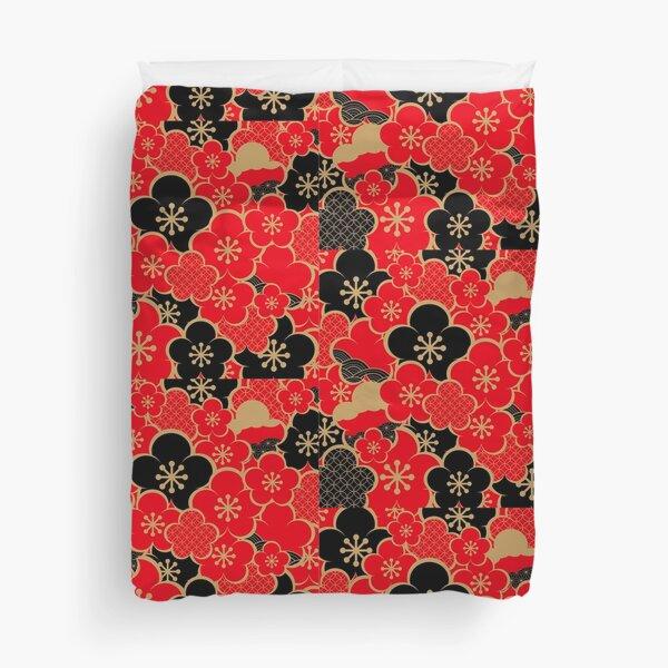 Japanese kimono 5 Duvet Cover