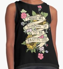 """Things Are Shaping Up To Be Pretty. Odd."" Contrast Tank"