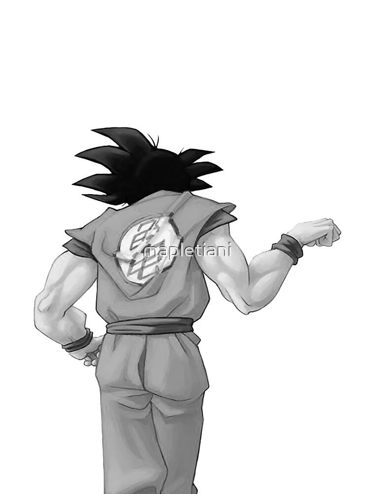"Goku, best friend (To buy in combo with ""Vegeta, best friend"") by mapletiani"