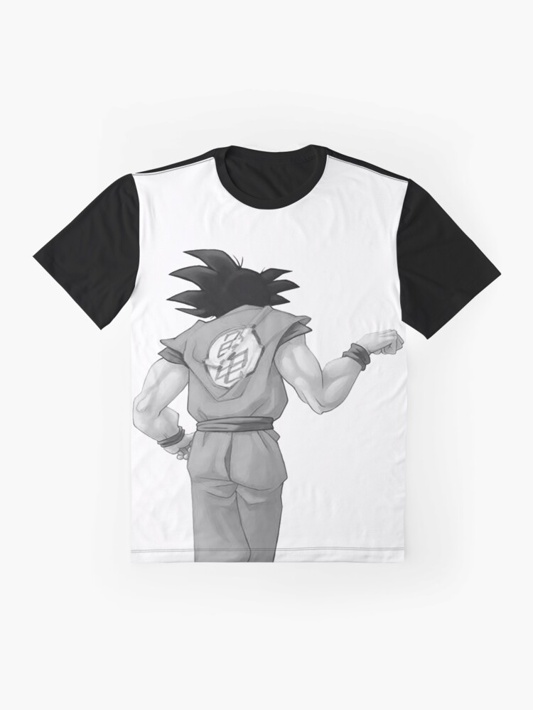 """Alternate view of Goku, best friend (To buy in combo with """"Vegeta, best friend"""") Graphic T-Shirt"""