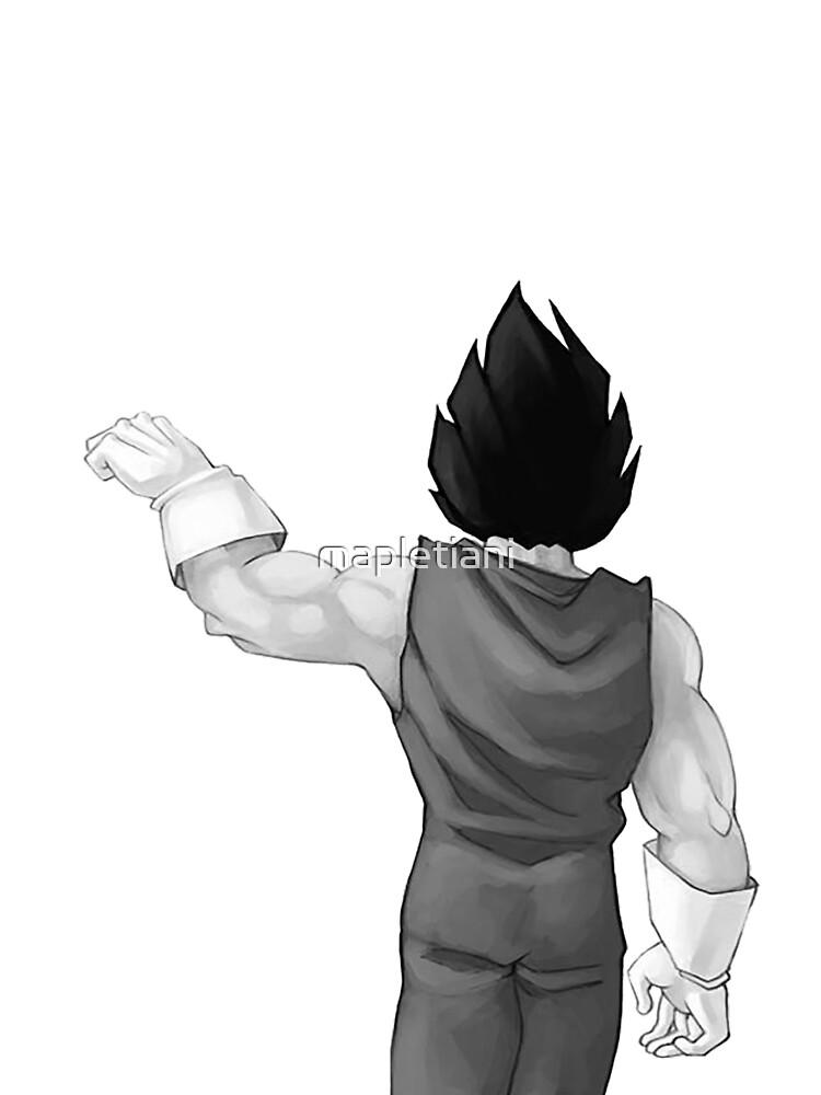"Vegeta, best friend (To buy in combo with ""Goku, best friend"") by mapletiani"
