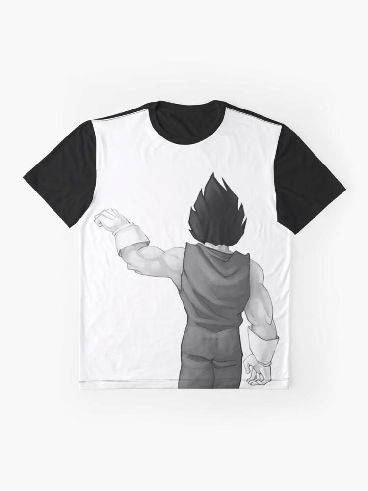 """Alternative Ansicht von Vegeta, bester Freund (In Kombination mit """"Goku, bester Freund"""" kaufen) Grafik T-Shirt"""