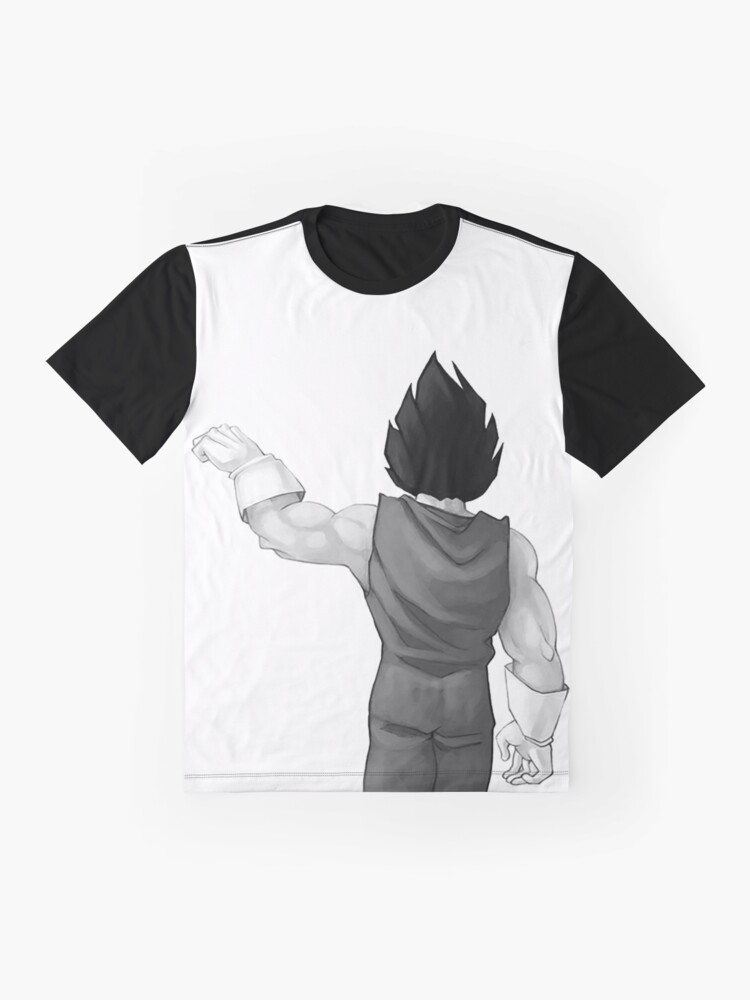 """Alternate view of Vegeta, best friend (To buy in combo with """"Goku, best friend"""") Graphic T-Shirt"""