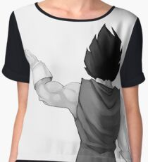 "Vegeta, best friend (To buy in combo with ""Goku, best friend"") Chiffon Top"