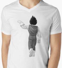 """Vegeta, best friend (To buy in combo with """"Goku, best friend"""") Men's V-Neck T-Shirt"""