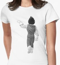 "Vegeta, best friend (To buy in combo with ""Goku, best friend"") Womens Fitted T-Shirt"