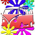 Hippie Bus by panzerfreeman