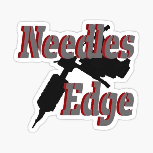 Needles Edge Sticker