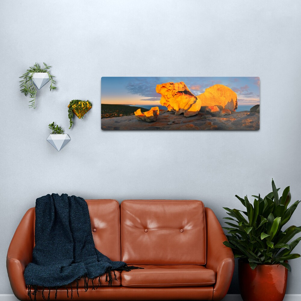 Remarkable Rocks Sunset, Kangaroo Island, South Australia Metal Print