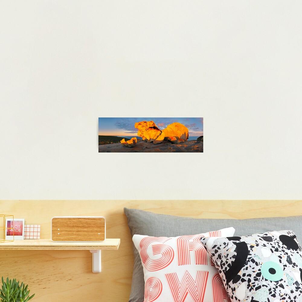 Remarkable Rocks Sunset, Kangaroo Island, South Australia Photographic Print