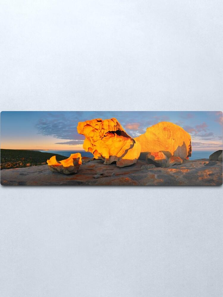Alternate view of Remarkable Rocks Sunset, Kangaroo Island, South Australia Metal Print