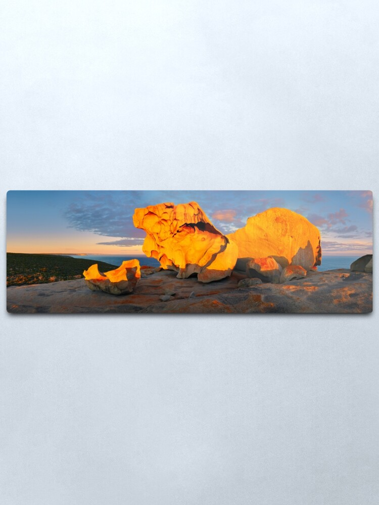 Alternate view of Remarkable Rocks Sunset, Kangaroo Island, South Australia Metal Print