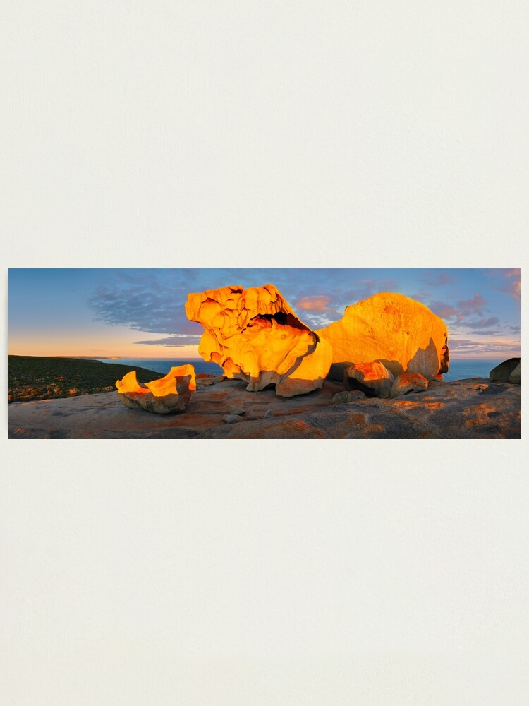 Alternate view of Remarkable Rocks Sunset, Kangaroo Island, South Australia Photographic Print