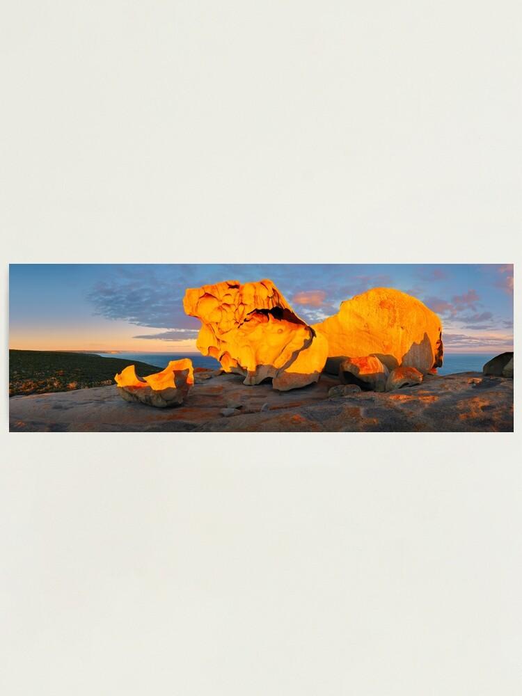 Alternate view of Remarkable Rocks Sunset, Kangaroo Island, South Australia Photographic Print