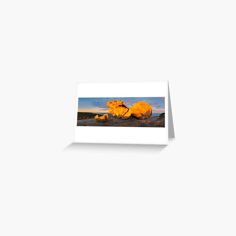 Remarkable Rocks Sunset, Kangaroo Island, South Australia Greeting Card