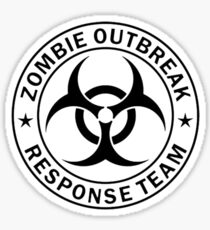 Zombie Response Team Sticker