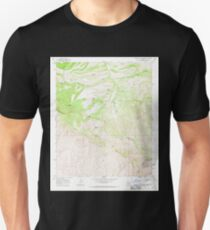 USGS TOPO Map Arizona AZ Mescal Warm Spring 312332 1968 24000 Unisex T-Shirt