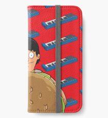 Gene Belcher Keyboard Pattern Red iPhone Wallet/Case/Skin