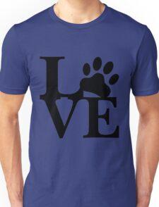 LOVE DOG PAW Unisex T-Shirt