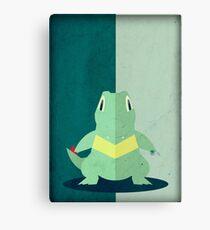 Pokemon - Totodile #158 Canvas Print
