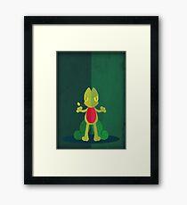 Pokemon - Treecko #252 Framed Print