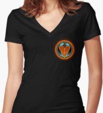 Spirit of Fire Emblem Women's Fitted V-Neck T-Shirt